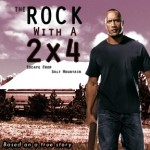 The Rock with a 2x4